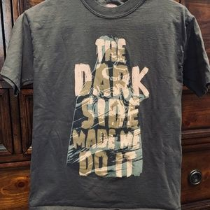 Authentic Disney Star Wars Dark Side Youth Large